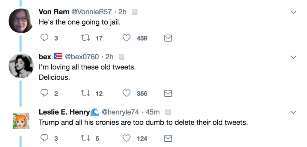 COHEN'S OLD TWEET JUST CAME BACK TO BITE HIM IN THE A**; HE JUST SENT HIMSELF TO JAIL