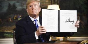 BREAKING: TRUMP SHUNS ADVICE FROM ADVISORS, SECRETLY ANNOUNCES PLAN TO ABANDON IRAN NUCLEAR DEAL